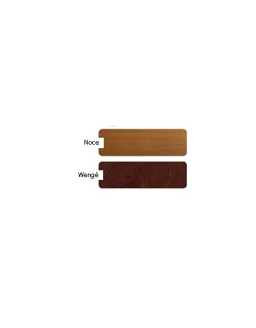 Carrello termico in legno - noce e/o wengè - bagnomaria cm 105x40x81h