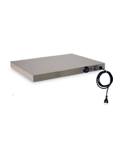 Piano caldo inox per riscaldare cm 50x35x6h