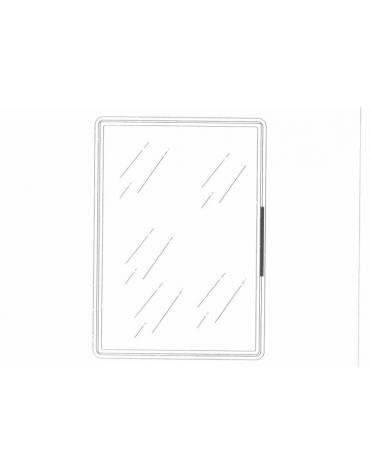 Sportello a vetro camera per banco refrigerato negativo