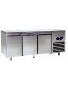 Tavolo refrigerato 3 Porte Dimensioni Cm.186,5x60x85h