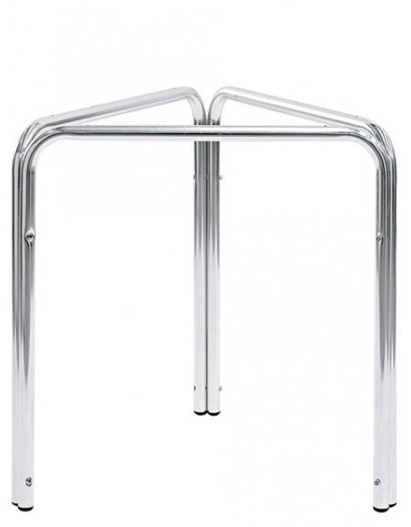 Gambe Per Tavoli In Alluminio.Base Con Struttura In Alluminio A Tre Gambe Per Piano Tondo