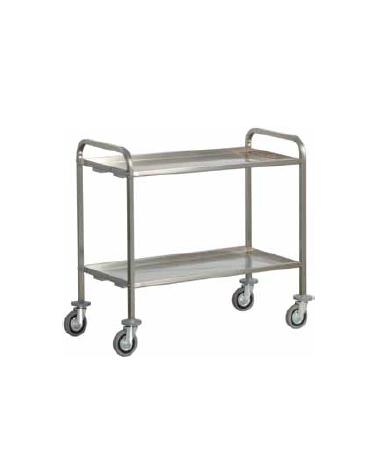 Carrelli inox con piani stampati saldati per trasporto for Scatolati in acciaio inox