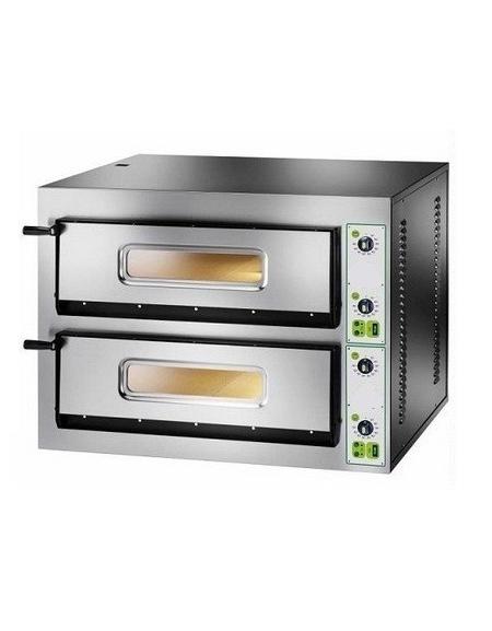 Forno pizza elettrico professionale 2 camere da 4 4 pizze - Forno per pizza elettrico ...