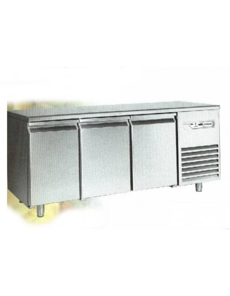 Tavolo refrigerato 3 Porte Dimensioni Cm.224,5x80x85h