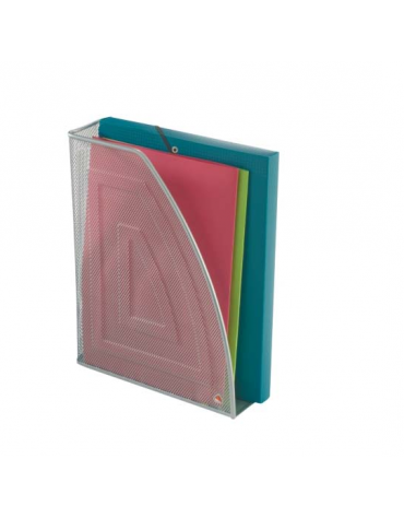 PORTA RIVISTE  colori: nero - grigio  cm. 8 x 26 x 33,5 h