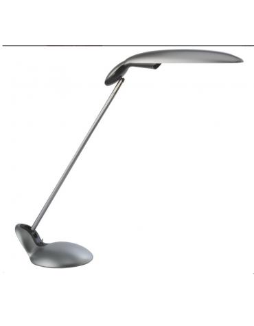 Lampada da tavolo in materiale plastico colorato. Completo  di lampada fluorescente a basso consumo da 230V - 11W