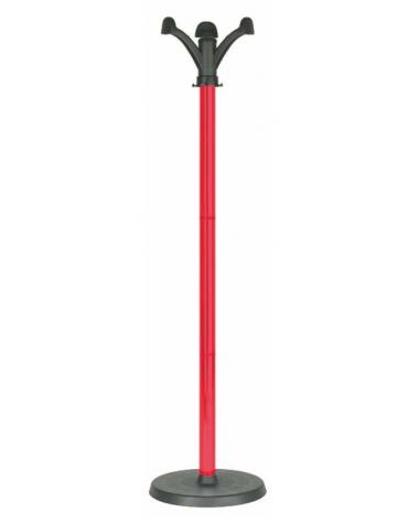 APPENDIABITI  colori: rosso  cm. 32 x 158 h.