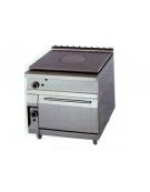 Tuttopiastra con forno a gas DIMENSIONI CM.80x90x90h