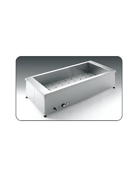 Tavola calda da banco Capacità 3 x 1/1 GN