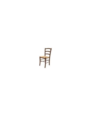 Sedia in legno rustica