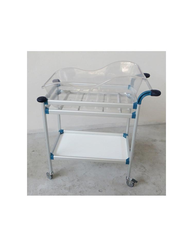 Culla ospedaliera pediatrica per neonato senza carrello for Arredamento ospedaliero