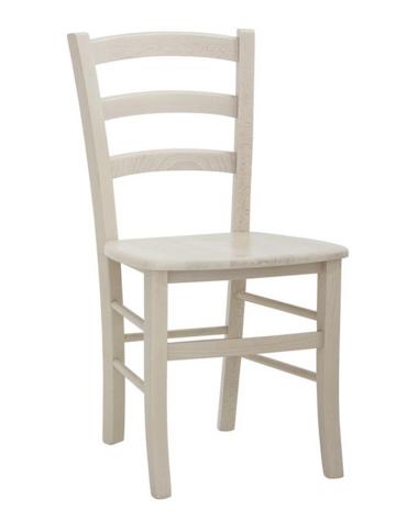 SEDIA  Struttura in legno, seduta in legno cm 42x39x87h