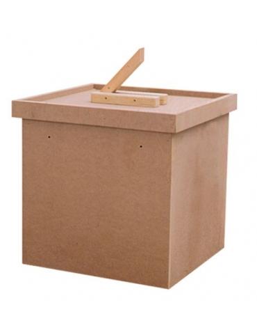 Urna elettorale in legno