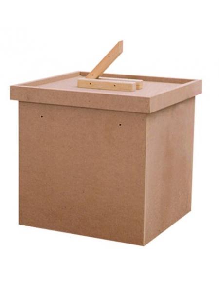 Urna elettorale in legno attrezzature elettorali for Tavoli ripiegabili