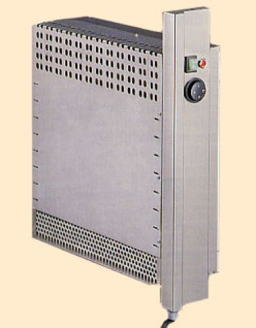 Tavolo armadiato caldo inox con alzatina cm. 110x60x85/90h