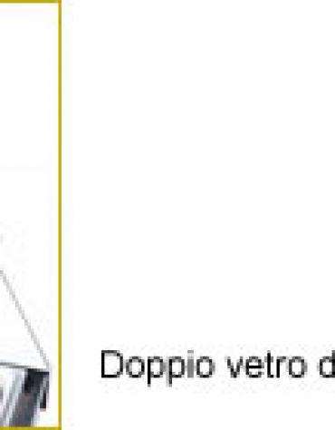 Vetrina refrigerata da banco cm. 143,8x39,5x35h