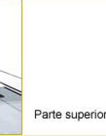 Vetrina refrigerata da banco cm. 178,8x39,5x35h