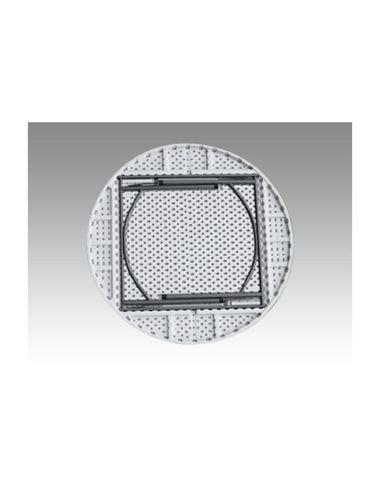 Tavolo rotondo pieghevole in polietilene diametro cm 150 for Tavolo rotondo 70 cm