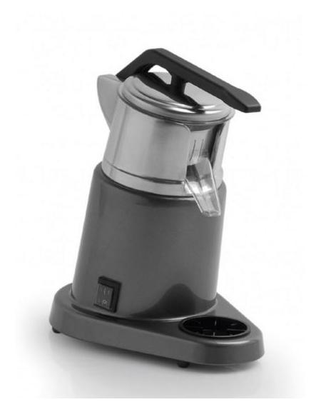 Spremiagrumi a leva professionale con vasca inox