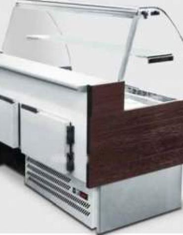 Vetrina refrigerata per panini COMPLETA da cm. 104