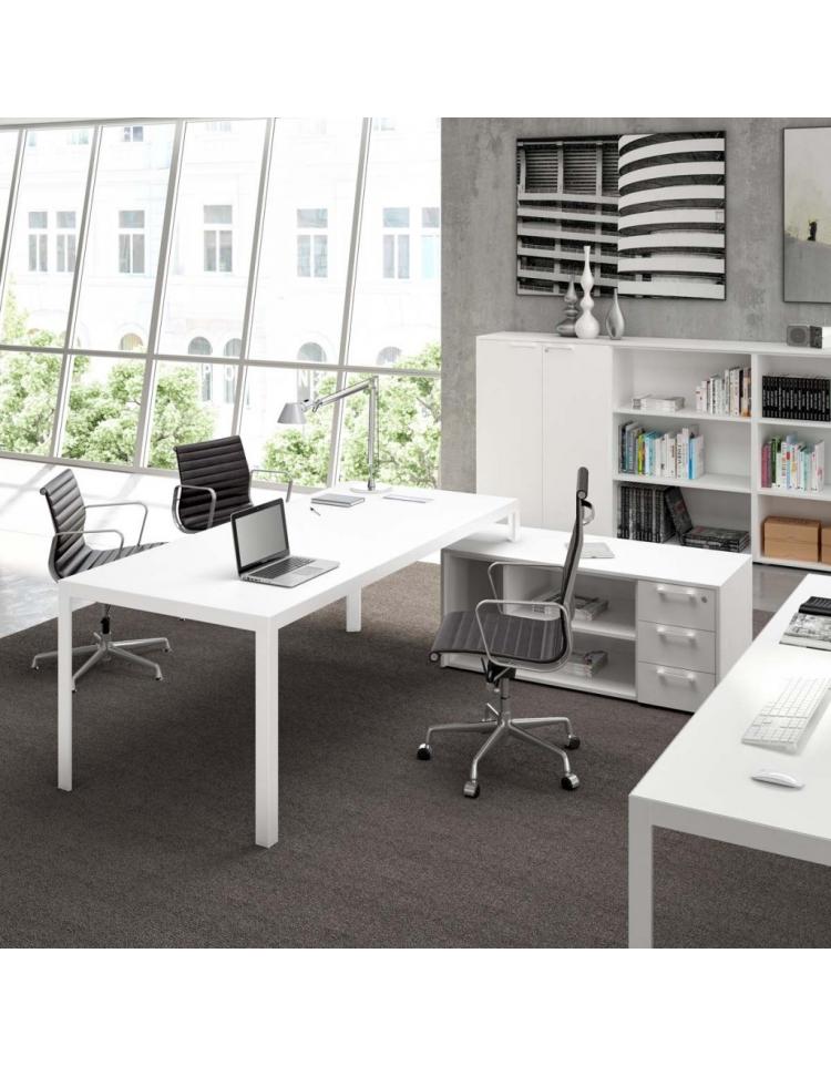 Tavolo Riunione Piano Vetro Executive : Tavolo riunione g alluminio piano in vetro