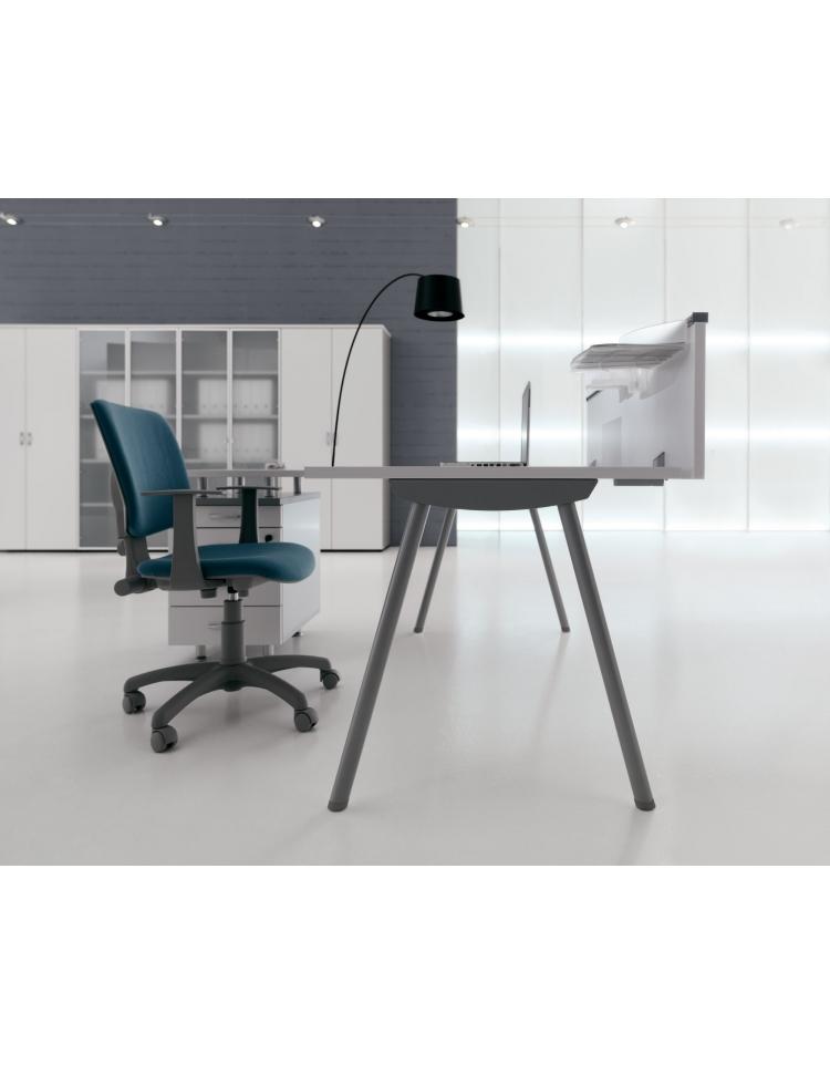 Scrivania ufficio operativa da cm 120 scrivanie mod 2 for Ufficio scrivania