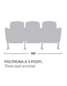 Poltrona 3 posti