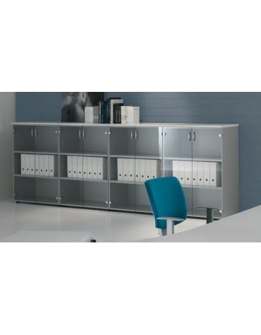 Mobile armadio medio per ufficio da cm. 45 aperto a giorno
