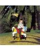 Gioco a molla in vetroresina Pony per giardino ed esterno