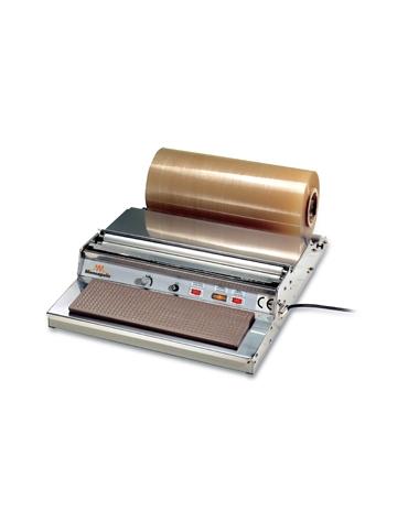 Confezionatrice manuale con profilo teflonato da mm. 450