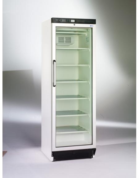 Congelatore verticale statico porta a vetri cm 59 for Congelatore verticale a