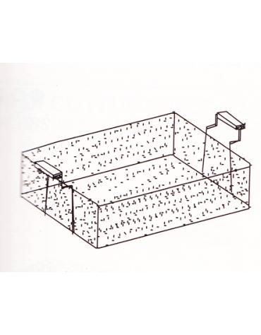 Cestello friggitrice cm. 59x55x23h