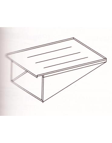 Scolafritto laterali per friggitrice cm. 61/48x36