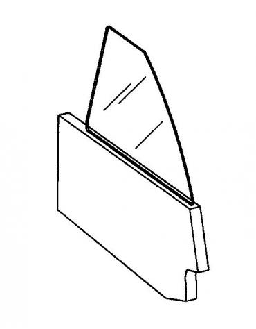 Divisorio fisso schiumato con vetro