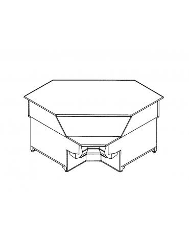 Terminale ad angolo 90° interno