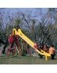 Scivolo in Resina per bambini da giardino - Altezza cm 170 Lunghezza cm 400