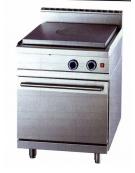 Tuttopiastra con forno a gas DIMENSIONI CM.70x70x90h