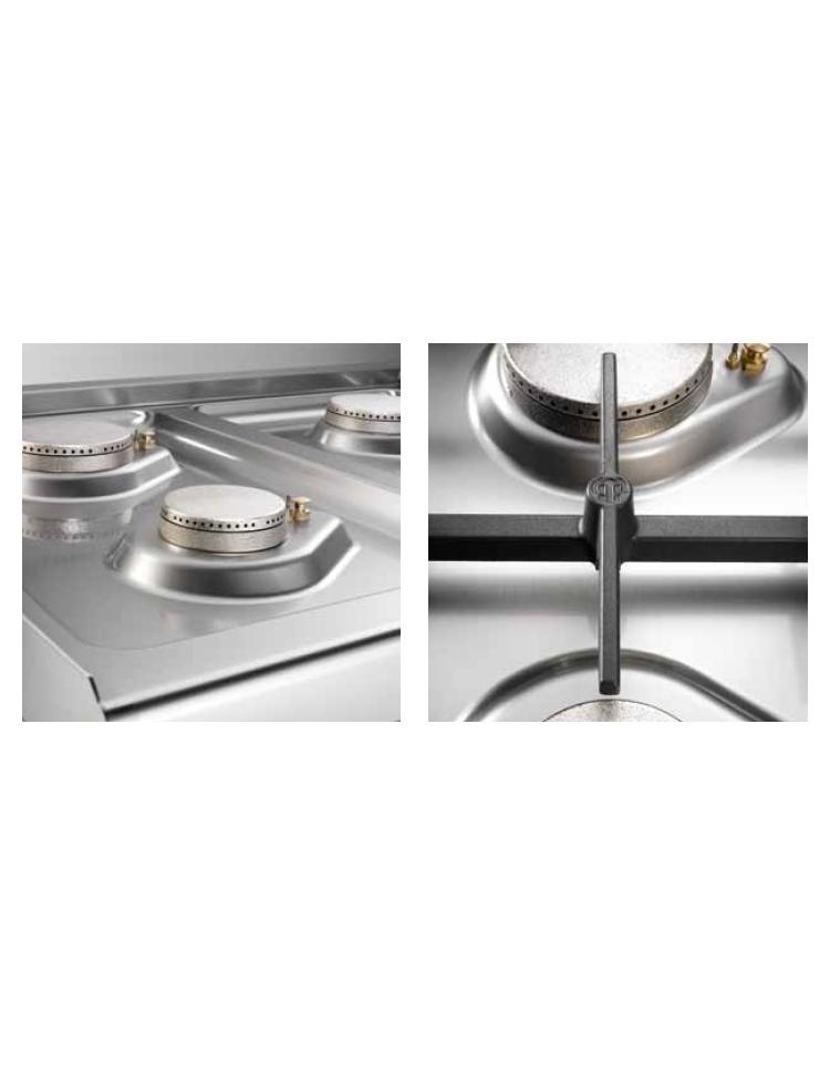 Cucina a gas da appoggio 2 fuochi media potenza profondita 39 cm 70 cucine da banco - Cucina a gas da 90 ...