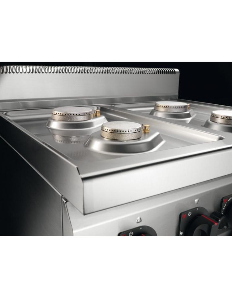 Cucina a gas da appoggio 2 fuochi media potenza for Forno elettrico da appoggio