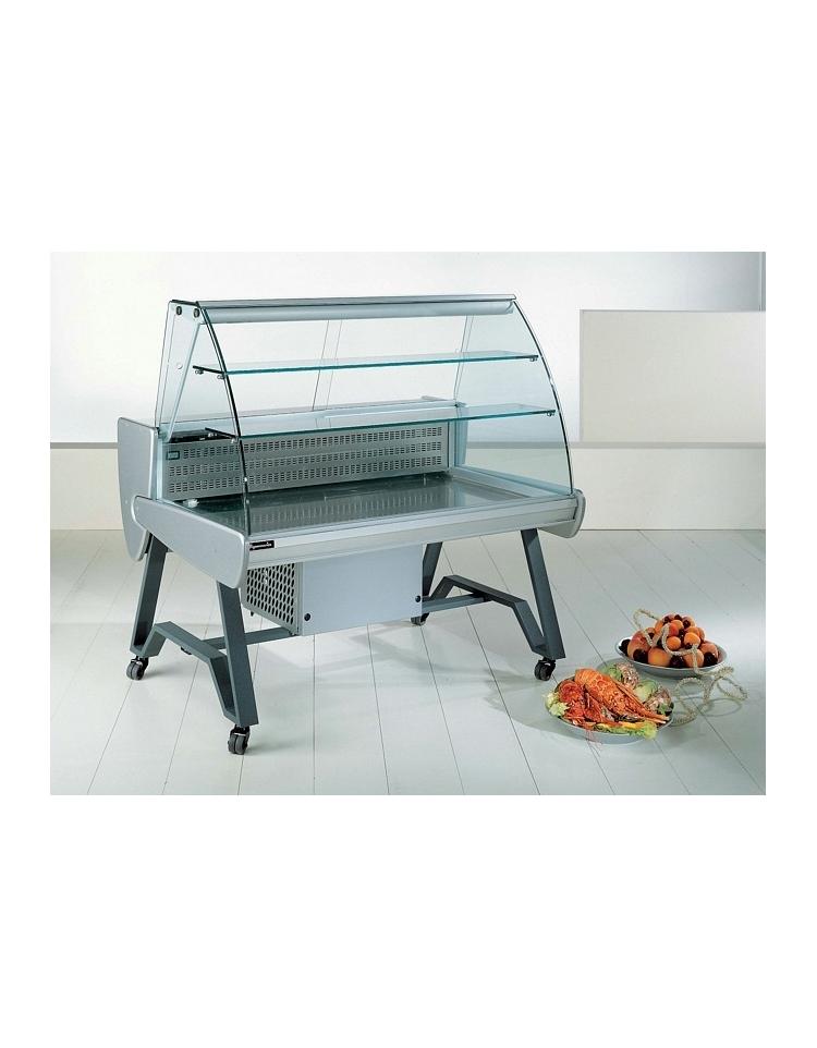 Carrello roller adatto per pesce vetri curvi da cm 100 for Carrello portalegna da arredamento
