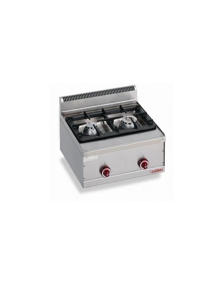 Cucina a gas da appoggio 2 fuochi da 9 5 kw linea - Manutenzione cucina a gas ...