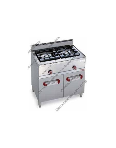 Cucina a gas 2 fuochi da 18 kw linea fuochi in linea alimentazione a gas cucine - Cucina a gas da 90 ...