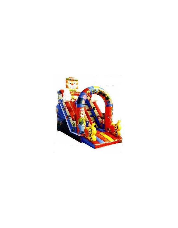 Scivolo clown giochi per bambini giochi gonfiabili dina forniture for Scivolo per bambini usato