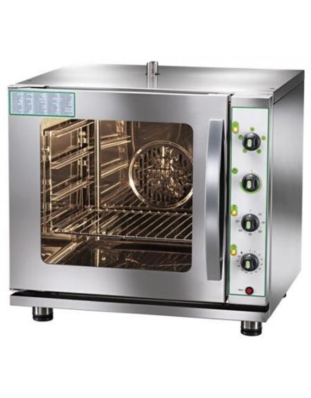 Forno a gas ventilato convezione con umidificatore 4 tegliegn2 3 alimentazione a gas forni a - Forno incasso a gas ventilato ...