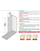 Cella frigorifera modulare industriale da cm. 734x214x254h