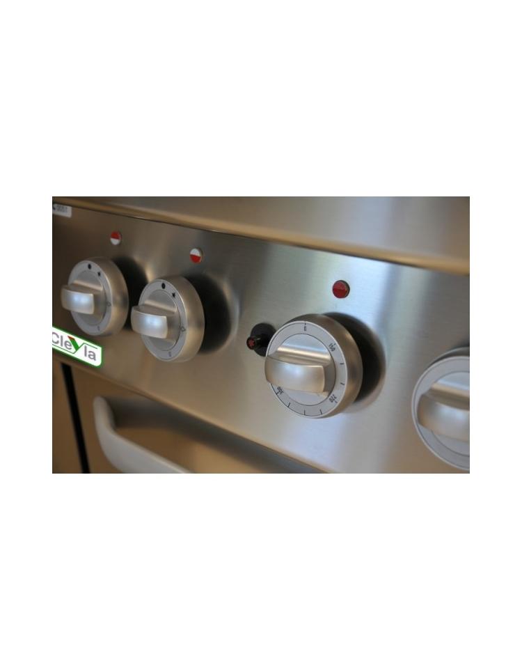 Cucina A Gas 6 Fuochi Con Forno A Gas E Armadio Cm
