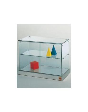 Vetrina bassa dimensioni cm. 71x35x50h