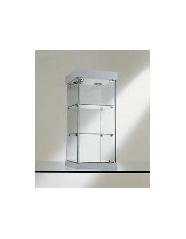 Vetrina da banco dimensioni cm. 31x31x74h