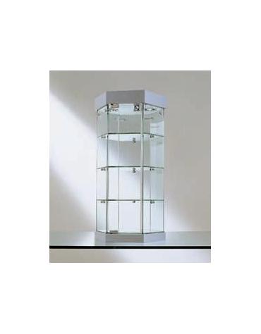 Vetrina da banco-dimensioni cm. Ø36x74h