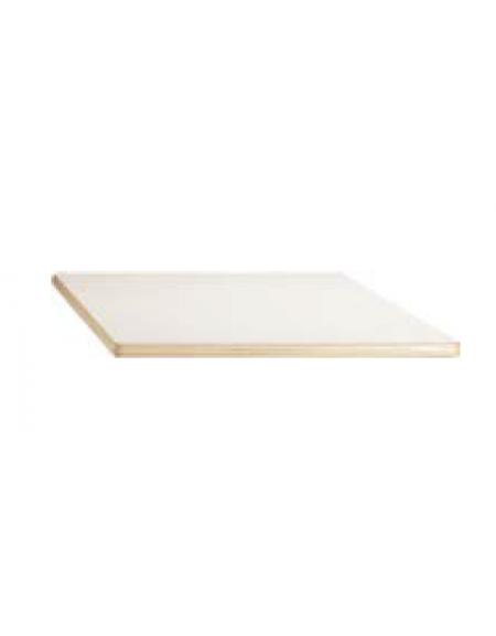 Piano tavolo quadrato latte in legno for Tavolo quadrato grande